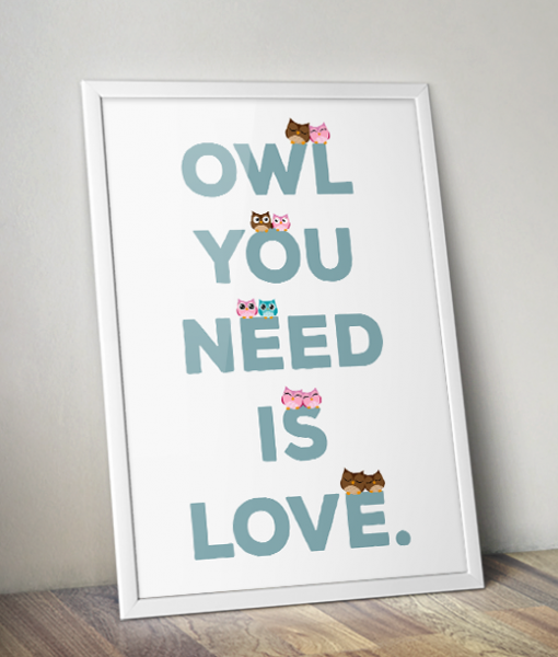Owl you need