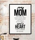 Heart made of Gold – mom