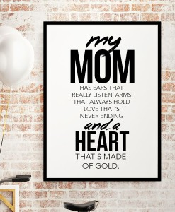 Heart made of Gold - mom